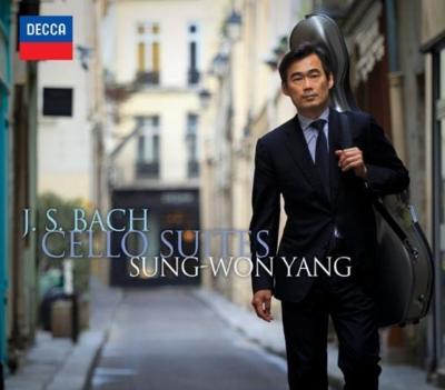無伴奏チェロ組曲全曲 ヤン・スンウォン(2CD+DVD)