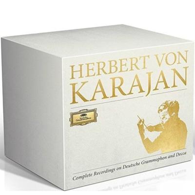 ヘルベルト・フォン・カラヤン DG、DECCA録音全集(330CD+24DVD+2ブルーレイ・オーディオ)