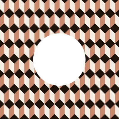 OFFBEAT 7インチ レコードスリーブ (ブラウン 5枚セット)(OFFBEAT Record Sleeve)