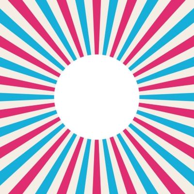 OFFBEAT 7インチ レコードスリーブ (ブルー×レッド 5枚セット)(OFFBEAT Record Sleeve)
