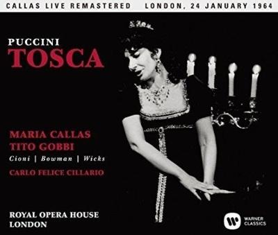 『トスカ』全曲 チラーリオ&コヴェント・ガーデン王立歌劇場、マリア・カラス、ティト・ゴッビ、他(1964 モノラル)(2SACD)(シングルレイヤー)