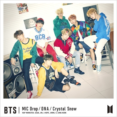 MIC Drop / DNA / Crystal Snow 【初回限定盤A】 (CD+DVD)