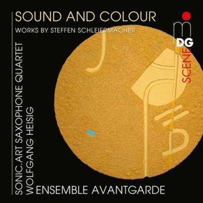 『音と色〜シュライヤーマッハー作品集』 アンサンブル・アヴァンギャルド、ソニック・アート・サクソフォン四重奏団、他