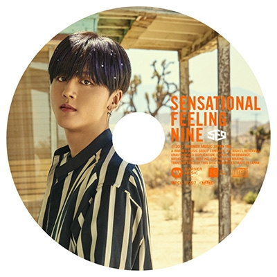 Sensational Feeling Nine 【YONG BIN:完全生産限定ピクチャーレーベル盤】