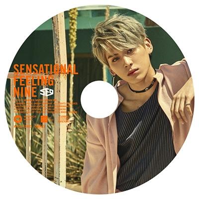 Sensational Feeling Nine 【TAE YANG:完全生産限定ピクチャーレーベル盤】