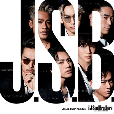 J.S.B.HAPPINESS (+DVD)