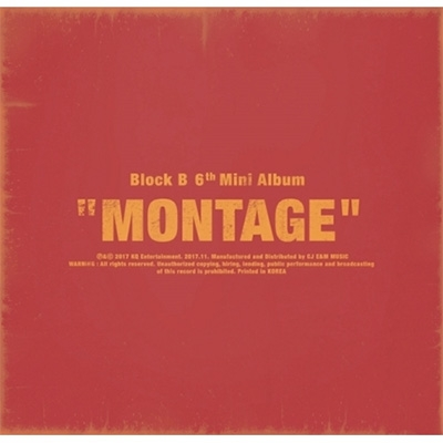 6th Mini Album: MONTAGE