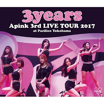 Apink 3rd Japan TOUR 〜3years〜at Pacifico Yokohama (Blu-ray)