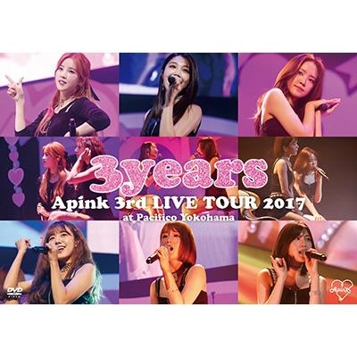 Apink 3rd Japan TOUR 〜3years〜at Pacifico Yokohama (DVD)