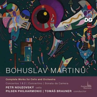 チェロと管弦楽のための作品全集 ペトル・ノウゾフスキー、トマス・ブラウナー&ピルゼン・フィル(2CD)