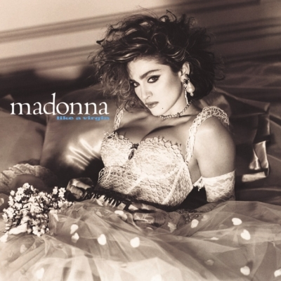 Clear Vinyl!! Madonna - Like A Virgin