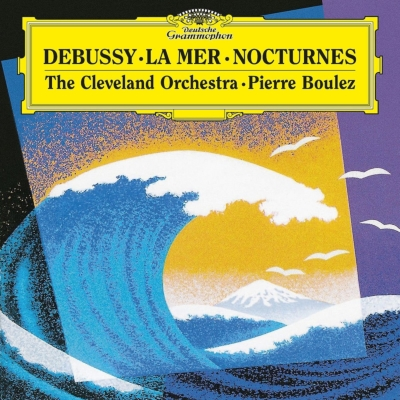 海、夜想曲:ピエール・ブーレーズ指揮&クリ—ヴランド管弦楽団 (180グラム重量盤レコード/Deutsche Grammophon)