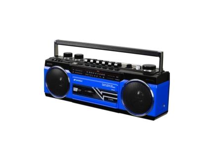 Sansui / Bluetooth対応シングルラジカセ (ブルー)