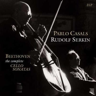 チェロソナタ全集:パブロ・カザルス(チェロ)、ルドルフ・ゼルキン(ピアノ) (2枚組/180グラム重量盤レコード/Vinyl Passion Classical)