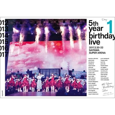 5th YEAR BIRTHDAY LIVE 2017.2.20-22 SAITAMA SUPER ARENA Day1