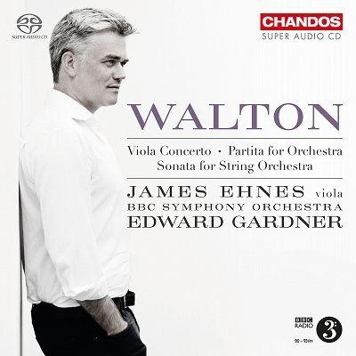 ヴィオラ協奏曲、弦楽合奏のためのソナタ、パルティータ ジェイムズ・エーネス、エドワード・ガードナー&BBC交響楽団
