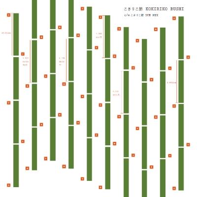 こきりこ節 / こきりこ節 DUB MIX【2018 RECORD STORE DAY 限定盤】(7インチシングルレコード)