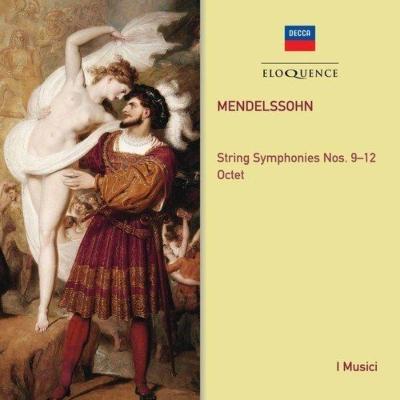 弦楽のための交響曲第9番、第10番、第11番、第12番、八重奏曲 イ・ムジチ合奏団(2CD)