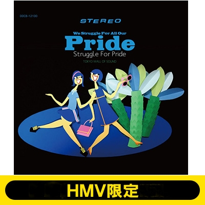 《HMV限定 刺繍ポケT(Sサイズ)付きセット》 WE STRUGGLE FOR ALL OUR PRIDE.