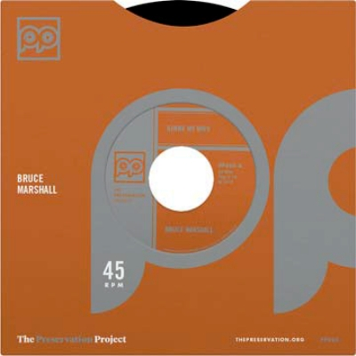 Gimme My Wife / Bill Thomas (7インチシングルレコード/Preservation Project)