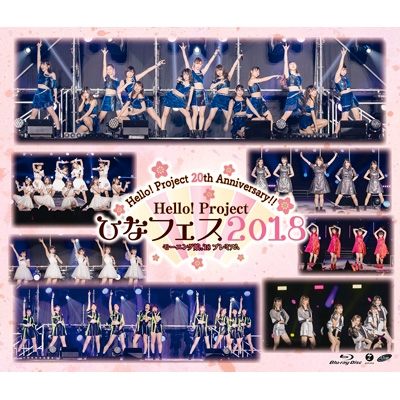 Hello! Project 20th Anniversary!! Hello! Project ひなフェス 2018 【モーニング娘。'18 プレミアム】 (Blu-ray)