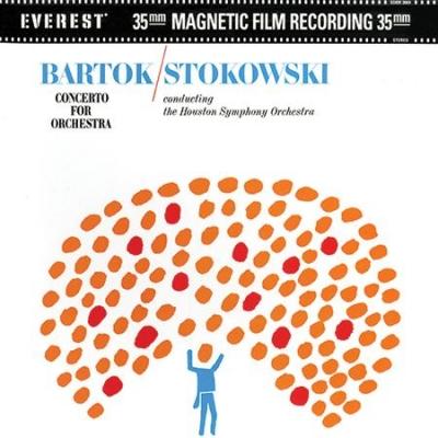 管弦楽のための協奏曲:レオポルド・ストコフスキー指揮&ヒューストン交響楽団 (高音質盤/45回転/2枚組/200グラム重量盤レコード/Everest/Classic Records)