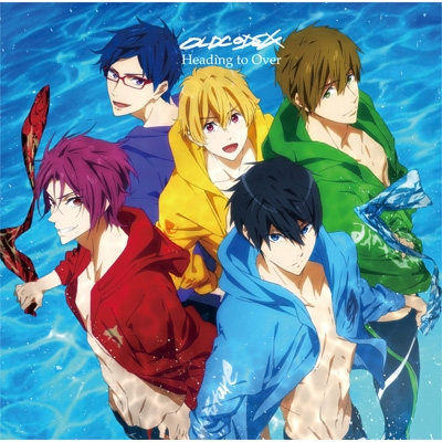 heading to over アニメ盤 tvアニメ free dive to the future