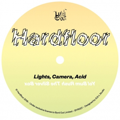 lights camera acid ep 12インチシングルレコード hardfloor