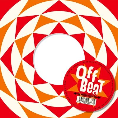 Offbeat Sleeve レッド×オレンジ トライアングルサークル 5枚セット