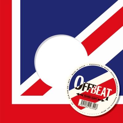 Offbeat Sleeve レッド×ブルー Uk 5枚セット