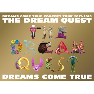 DREAMS COME TRUE CONCERT TOUR 2017/2018 -THE DREAM QUEST-(Blu-ray)