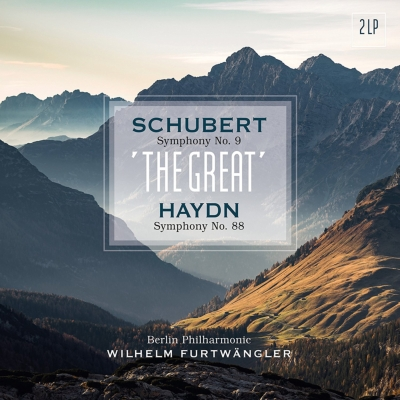 交響曲第9番「ザ・グレイト」、他:ヴィルヘルム・フルトヴェングラー指揮&ベルリン・フィルハーモニー管弦楽団 (2枚組アナログレコード/Vinyl Passion Classical)