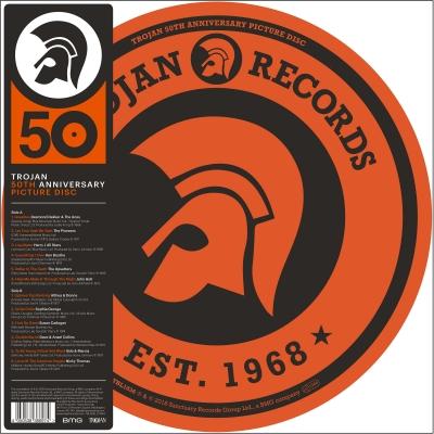 trojan 50th anniversary ピクチャーヴァイナル仕様 アナログレコード