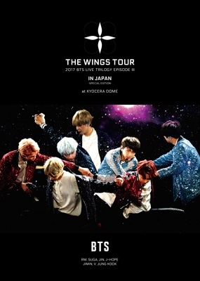 2017 BTS LIVE TRILOGY EPISODE III THE WINGS TOUR  IN JAPAN 〜SPECIAL EDITION〜at KYOCERA DOME 【初回限定盤】 (2DVD+LIVE写真集)