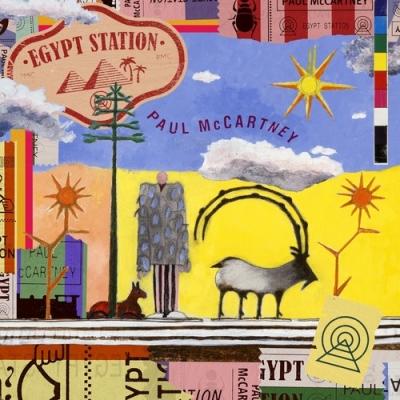 Egypt Station【完全生産限定仕様】(通常輸入盤/ブラック・ヴァイナル仕様/2枚組/180グラム重量盤レコード)