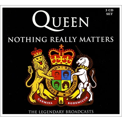 nothing really matters the legendary broadcasts 3cd queen