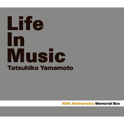 Tatsuhiko Yamamoto 40th Memorial Box 「LIFE IN MUSIC」 (3CD+BD)