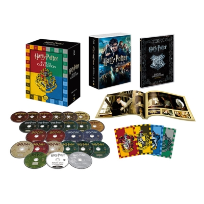 【初回限定生産】 ハリー・ポッター コンプリート 8-Film BOX <バック・トゥ ・ホグワーツ仕様>ブルーレイ(24枚組)
