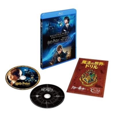 ハリー・ポッターと賢者の石 & ファンタスティック・ビーストと魔法使いの旅 魔法の世界 入学セット ブルーレイ(2枚組)