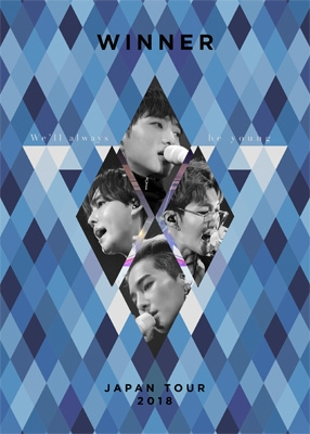 WINNER JAPAN TOUR 2018 〜We'll always be young〜[First Press Limited Edition] (2Blu-ray+2CD)
