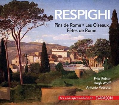 Pini Di Roma, Feste Romane, Gli Uccelli, Etc: Reiner / Cso H.wolff / St Paul Co Pedrotti / Czech Po Etc