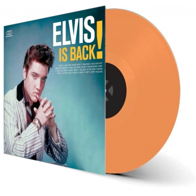 Elvis Is Back! (カラーヴァイナル仕様/180グラム重量盤レコード/waxtime in color)