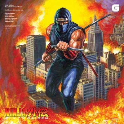 忍者龍剣伝のサントラがアナログレコードで登場