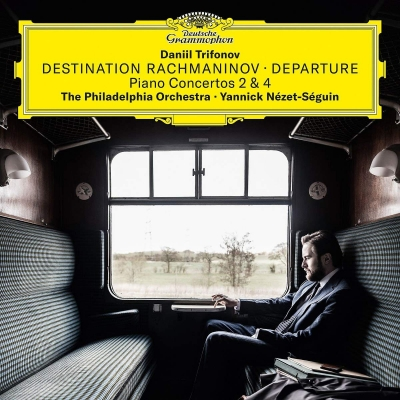 ピアノ協奏曲第2番、第4番、他:ダニール・トリフォノフ(ピアノ)、ヤニク・ネゼ=セガン指揮&フィラデルフィア管弦楽団 (2枚組アナログレコード/Deutsche Grammophon)