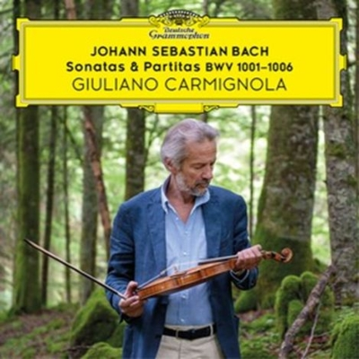 無伴奏ヴァイオリンのためのソナタとパルティータ全曲 ジュリアーノ・カルミニョーラ(2CD)