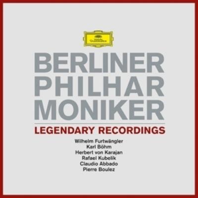 伝説の録音集:ベルリン・フィルハーモニー管弦楽団 (BOX仕様/6枚組アナログレコード/Deutsche Grammophon)