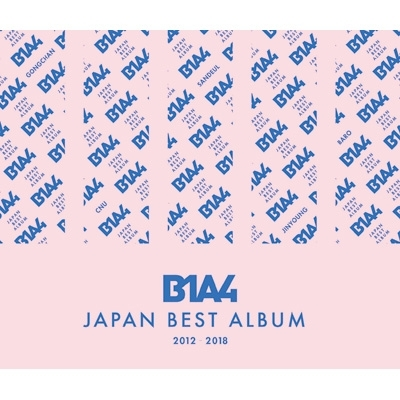 B1A4 JAPAN BEST ALBUM 2012−2018 (2CD+Blu-ray)