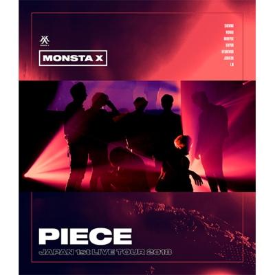 MONSTA X, JAPAN 1ST LIVE TOUR 2018 'PIECE' (Blu-ray)