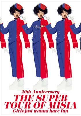 20th Anniversary THE SUPER TOUR OF MISIA  Girls just wanna have fun (Blu-ray)