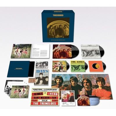 Kinks Are The Village Green Preservation Society 50周年記念盤 デラックスエディション (BOX仕様/3枚組アナログレコード+5枚組CD+3枚組7インチシングル)